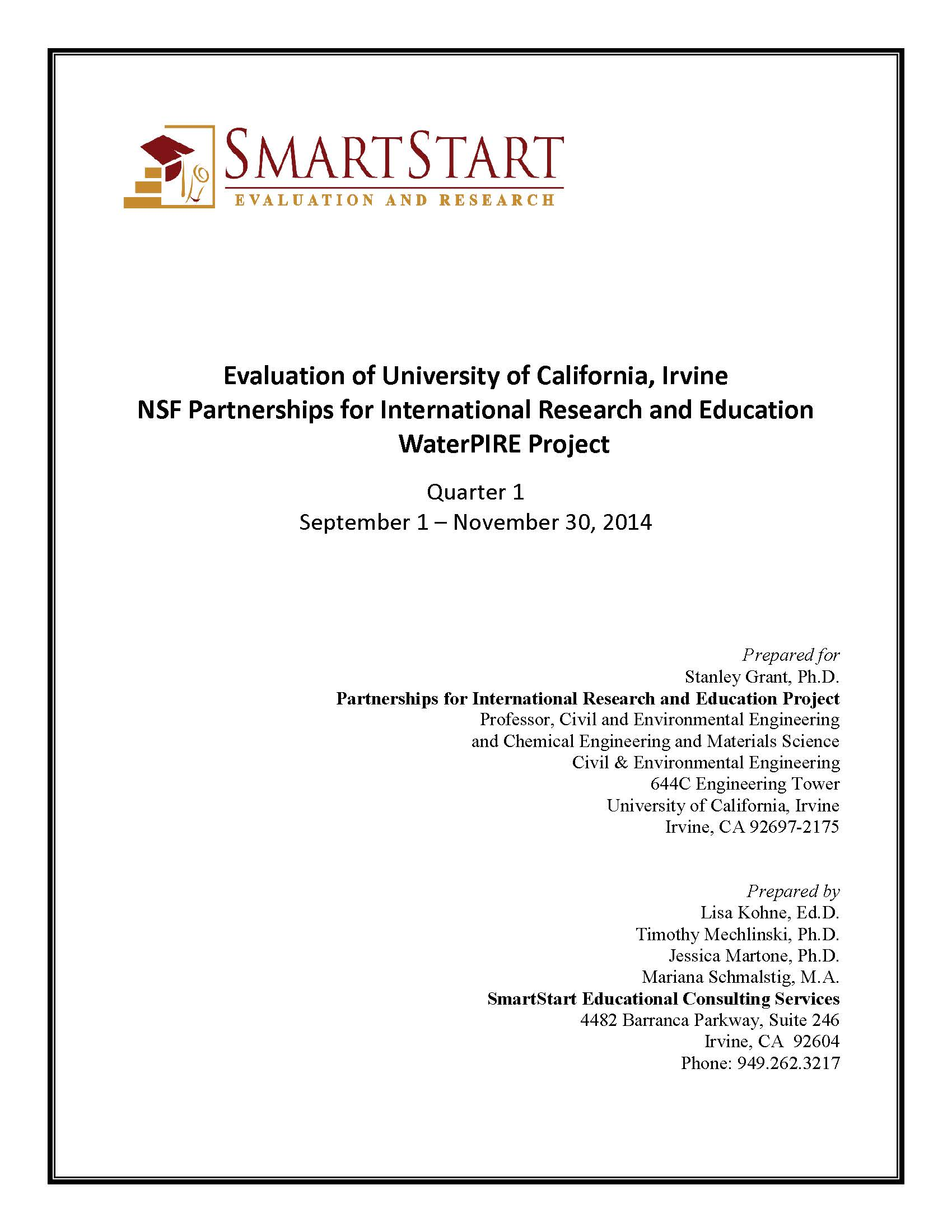 Report - 2014-15 Q1 SmartStart Evaluation of the UCI PIRE project_Page_01