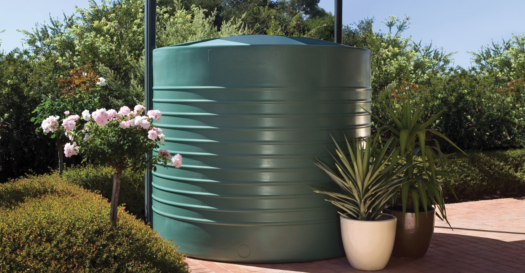Rainwater Tanks Water Tank Aqua-Line Squat 01